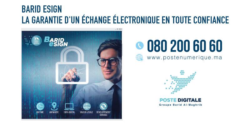 POSTEDIGITAL BARID ESIGN2-Appels d'offres et marchés publics